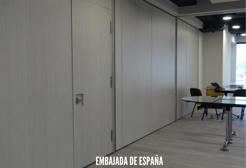 puertas acusticas para oficinas